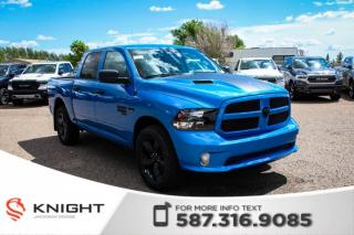 New 2019 RAM 1500 Classic Express Blackout Crew Cab | Back-up Camera for sale in Medicine Hat, AB