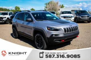 New 2019 Jeep Cherokee Trailhawk 4x4 V6 | Navigation | Remote Start for sale in Medicine Hat, AB