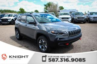 New 2019 Jeep Cherokee Trailhawk Elite 4x4 V6 | Ventilated Seats | Navigation | Remote Start for sale in Medicine Hat, AB