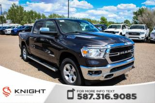 New 2019 RAM 1500 Big Horn Crew Cab | Heated Seats and Steering Wheel | RamBox | Remote Start for sale in Medicine Hat, AB