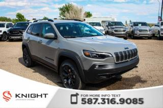 New 2019 Jeep Cherokee Upland 4x4 | Heated Seats and Steering Wheel | Remote Start for sale in Medicine Hat, AB