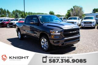 Used 2019 RAM 1500 Big Horn Crew Cab | Heated Seats and Steering Wheel | Navigation | Remote Start for sale in Medicine Hat, AB