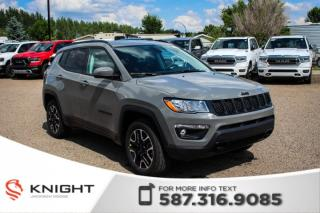 New 2019 Jeep Compass Upland Edition 4x4 | Heated Seats and Steering Wheel | Remote Start - $179 B/W! for sale in Medicine Hat, AB
