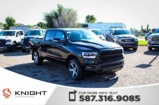 Used 2019 RAM 1500 Sport Crew Cab | Heated Seats and Steering Wheel | Navigation | 12