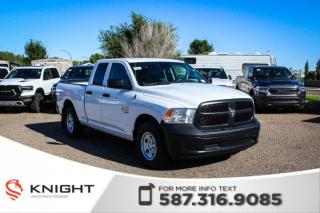 Used 2019 RAM 1500 Classic ST Quad Cab V6 | Back-up Camera for sale in Medicine Hat, AB