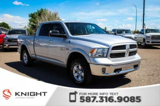 Used 2014 RAM 1500 Outdoorsman - Aftermarket Remote Start, Touchscreen for sale in Medicine Hat, AB