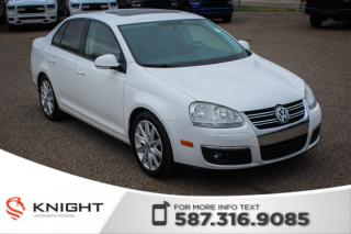 Used 2010 Volkswagen Jetta Sedan Wolfsburg - Touchscreen, Heated Front Seats for sale in Medicine Hat, AB