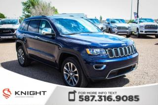 Used 2018 Jeep Grand Cherokee Limited - Rear View Camera, NAV, Leather for sale in Medicine Hat, AB