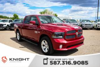 Used 2015 RAM 1500 Sport - Remote Start, Rear View Camera for sale in Medicine Hat, AB