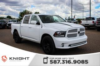 Used 2014 RAM 1500 Sport - Low Km, Accident Free for sale in Medicine Hat, AB