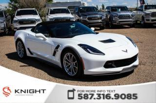 Used 2018 Chevrolet Corvette Grand Sport 3LT - NAV, Parking Sensors, Leather for sale in Medicine Hat, AB