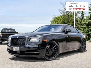 Used 2016 Rolls Royce Wraith 624HP|NAVI|LEATHER|FULLY LOADED!! for sale in Ancaster, ON