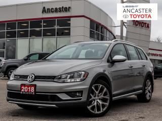 Used 2018 Volkswagen Golf Sportwagon 1.8 TSI|LEATHER|CAMERA|BLUETOOTH!! for sale in Ancaster, ON