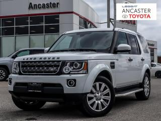 Used 2016 Land Rover LR4 1 OWNER|NAVI|LEATHER|BLUETOOTH for sale in Ancaster, ON