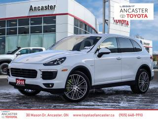 Used 2016 Porsche Cayenne S HYBRID - NAVI|LEATHER|SUNROOF|FULLY LOADED!! for sale in Ancaster, ON