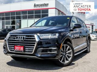 Used 2018 Audi Q7 3.0T Technik for sale in Ancaster, ON