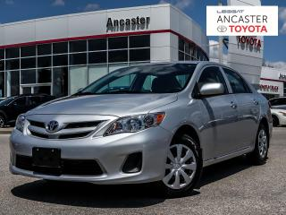 Used 2013 Toyota Corolla CE for sale in Ancaster, ON
