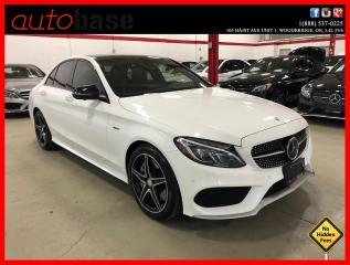 Used 2016 Mercedes-Benz C-Class C450 AMG 4MATIC DISTRONIC PREMIUM AMG STEERING WHEEL LED for sale in Vaughan, ON