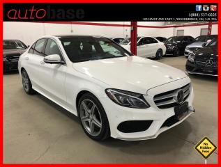 Used 2016 Mercedes-Benz C-Class C300 4MATIC DISTRONIC BURMESTER PREMIUM PLUS SPORT for sale in Vaughan, ON