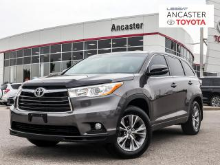 Used 2016 Toyota Highlander LE|1 OWNER|BACKUP CAMERA|BLUETOOTH for sale in Ancaster, ON