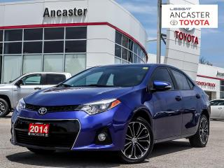Used 2014 Toyota Corolla S for sale in Ancaster, ON