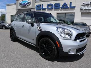 Used 2015 MINI Cooper S S ALL4 6 SPEED MANUAL PANOR. ROOF . for sale in Ottawa, ON