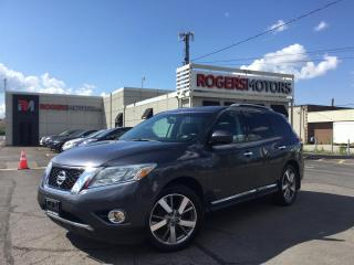 Used 2014 Nissan Pathfinder HYBRID PLATINUM 4WD - NAVI - 7 PASS - DVD for sale in Oakville, ON