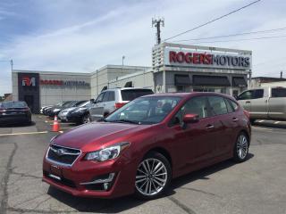 Used 2015 Subaru Impreza LTD AWD - HATCH - NAVI - LEATHER - SUNROOF for sale in Oakville, ON