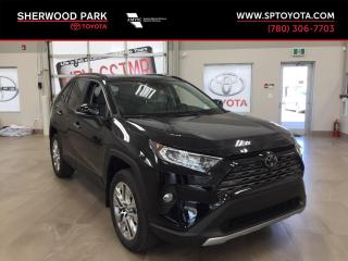 New 2019 Toyota RAV4 LIMITED  for sale in Sherwood Park, AB