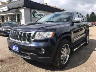 Used 2011 Jeep Grand Cherokee Overland 4WD for sale in Bloomingdale, ON