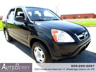 Used 2004 Honda CR-V LX - 4WD - 2.4L for sale in Woodbridge, ON