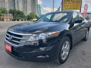 Used 2010 Honda Accord Crosstour EX-L/Leather/Sunroof/4WD/Fog Lights!!! for sale in Scarborough, ON