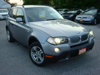 Used 2008 BMW X3 3.0i  Leather/Panoramic Sunroof for sale in Ajax, ON