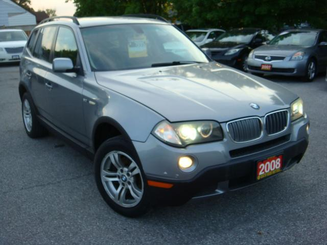 2008 BMW X3 3.0i  Leather/Panoramic Sunroof