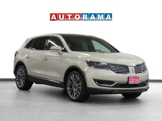 Used 2016 Lincoln MKX AWD Navigation Leather Pano-Sunroof Backup Cam for sale in Toronto, ON