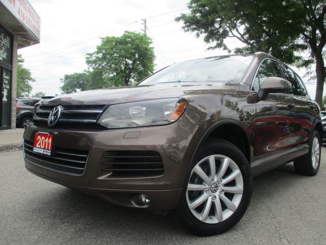 2011 Volkswagen Touareg COMFORTLINE-TDI-AWD-NAVI-LTHER-PANO ROOF-BLUETOOTH