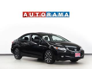 Used 2014 Honda Civic TOURING NAVIGATION LEATHER SUNROOF BACKUP CAM for sale in Toronto, ON