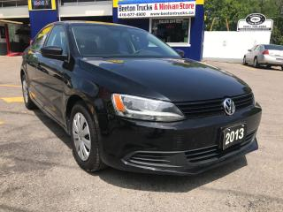 Used 2013 Volkswagen Jetta TRENDLINE+ for sale in Beeton, ON