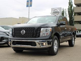 New 2019 Nissan Titan SV 4x4 Crew Cab Backup Camera | Heated Seats | Apple CarPlay/Android Auto for sale in Edmonton, AB