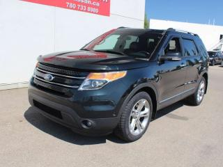 Used 2014 Ford Explorer Limited/4WD/ONE OWNER/COOLED SEATS/PANO ROOF for sale in Edmonton, AB