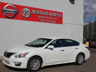 Used 2013 Nissan Altima 2.5 S/ONE OWNER/BLUETOOTH/AUX INPUT for sale in Edmonton, AB