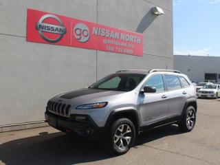 Used 2017 Jeep Cherokee Trailhawk/AWD/HEATED SEATS/HEATED WHEEL for sale in Edmonton, AB
