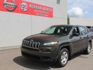 Used 2016 Jeep Cherokee Sport/4x4/ONE OWNER/BLUETOOTH for sale in Edmonton, AB