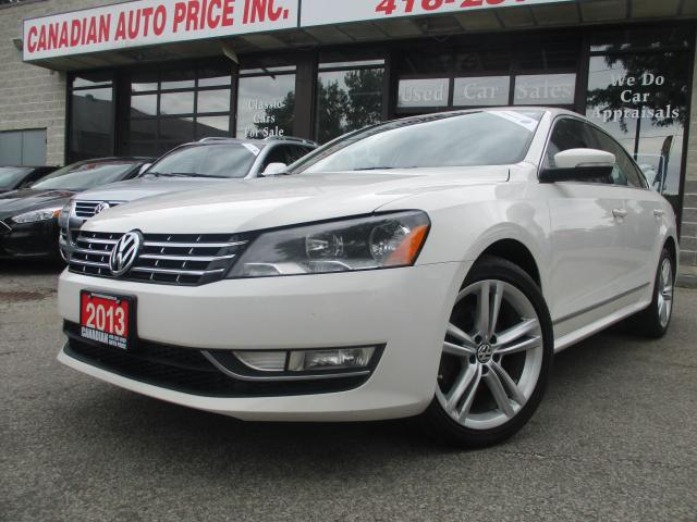 2013 Volkswagen Passat HIGHLINE-TDI DSG-LEATHER-ROOF-CAMERA-BLUETOOTH-HEA