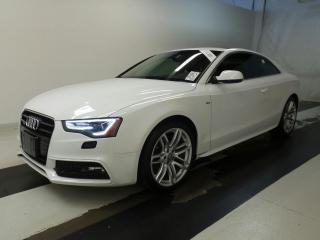Used 2015 Audi A5 Technik S-Line / Quattro/Navi/RevCam/Blindspot for sale in BRAMPTON, ON