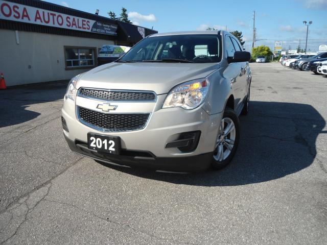 2012 Chevrolet Equinox LOW KM NO ACCIDENT SAFETY 1OWNER B-TOOTH PW PL PM