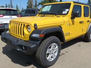 New 2019 Jeep Wrangler UNLIMITED SPORT for sale in Edmonton, AB