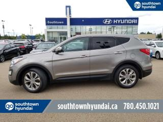Used 2013 Hyundai Santa Fe LIMITED/AWD/LEATHER/PANO SUNROOF/HEATED COOLED SEATS for sale in Edmonton, AB