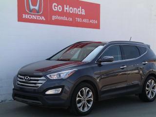Used 2015 Hyundai Santa Fe Sport LIMITED 2.0T, NAVI, COOLED SEATS, PANORAMIC SUNROOF, 7 PASSENGER for sale in Edmonton, AB