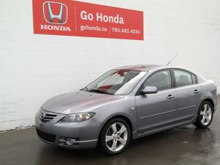 Used 2005 Mazda MAZDA3 GT, LEATHER, HATCHABACK - FINANCING AVAILABLE for sale in Edmonton, AB
